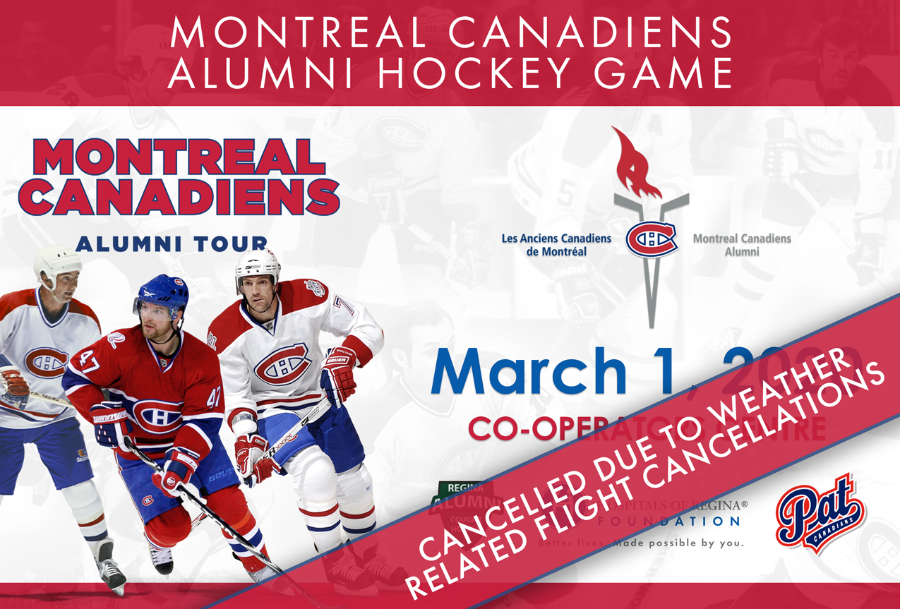 Montreal Canadiens Alumni Game Cancellation