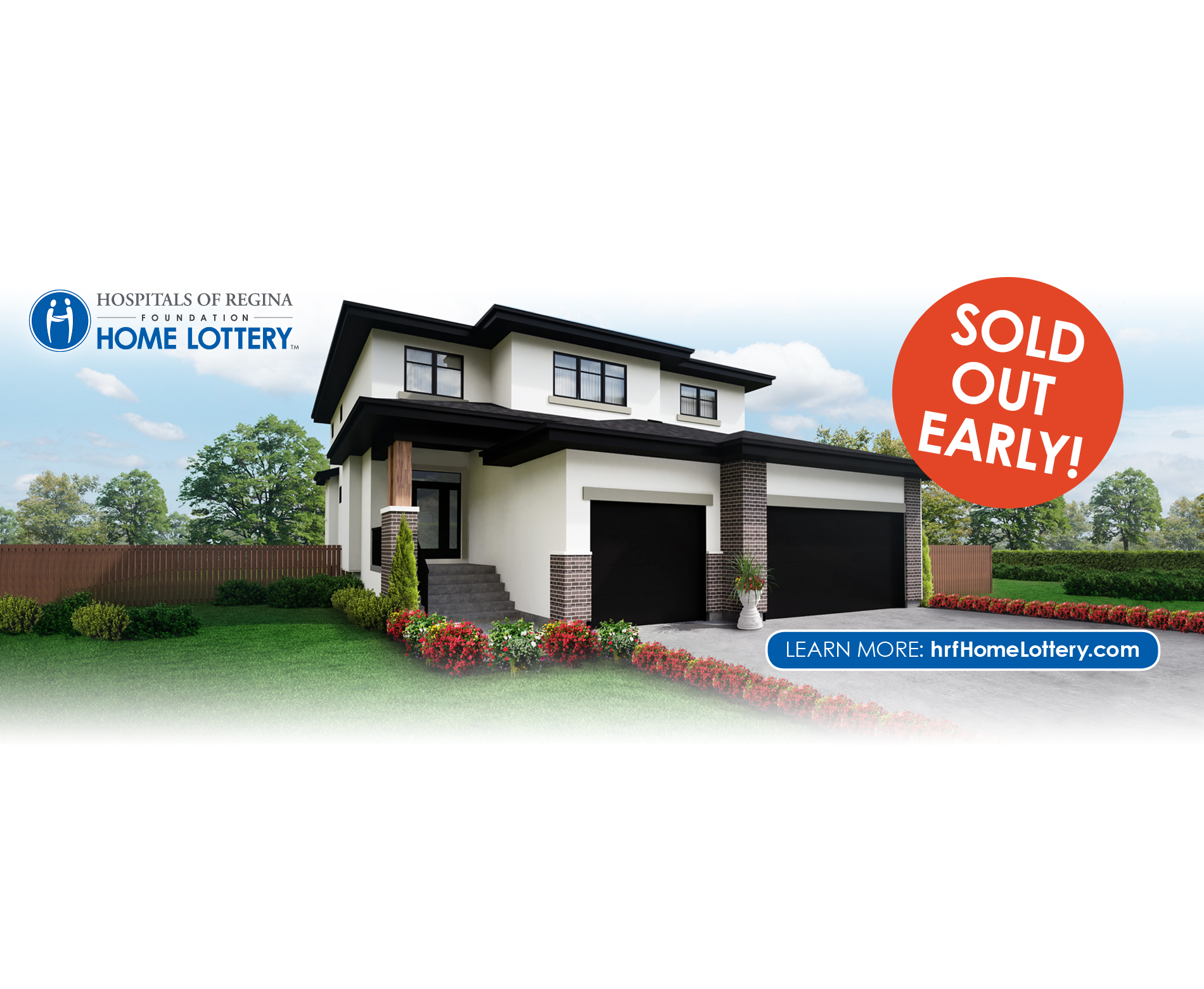 Hospitals of Regina Foundation Fall 2018 Home Lottery has sold out early