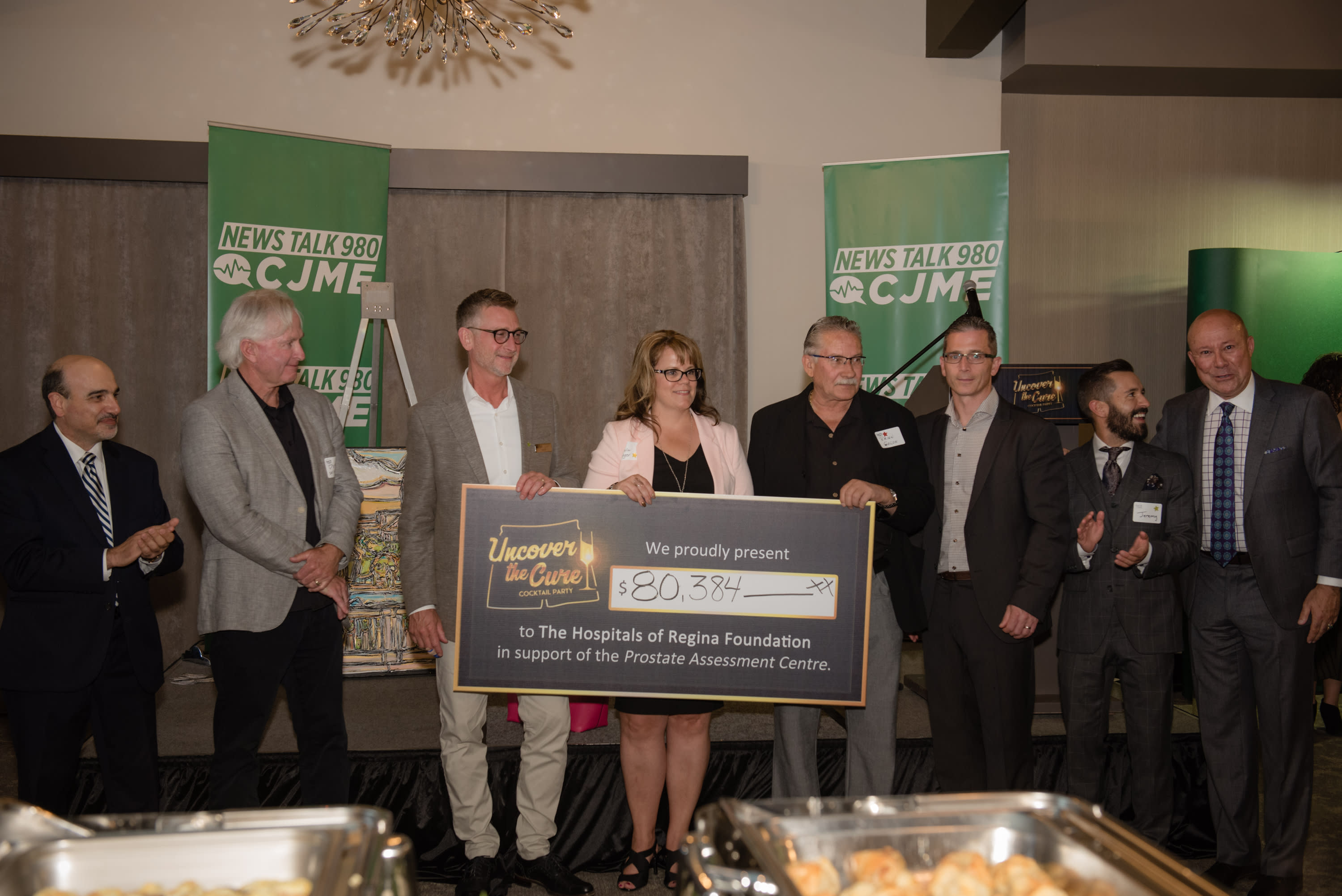 Uncover the Cure Cheque Presentation -