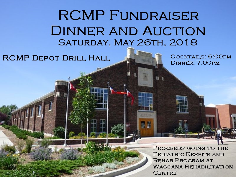 Annual RCMP Fundraiser Dinner & Auction