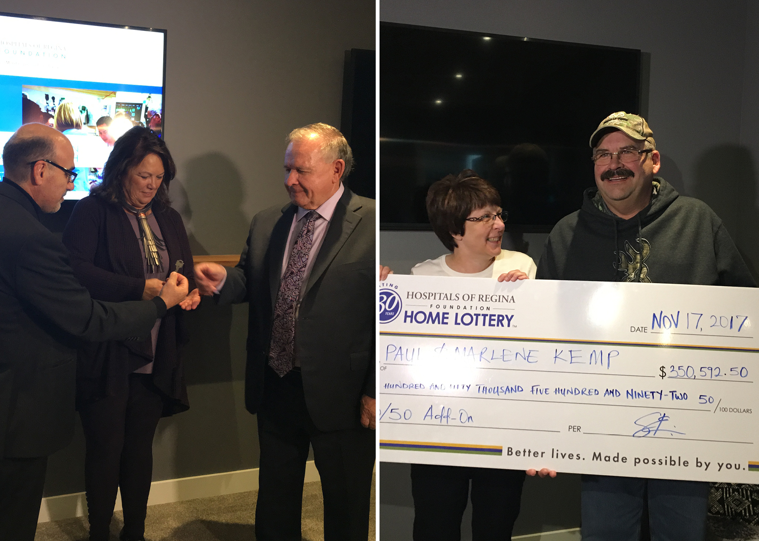 Meet the top winners - fall Home Lottery