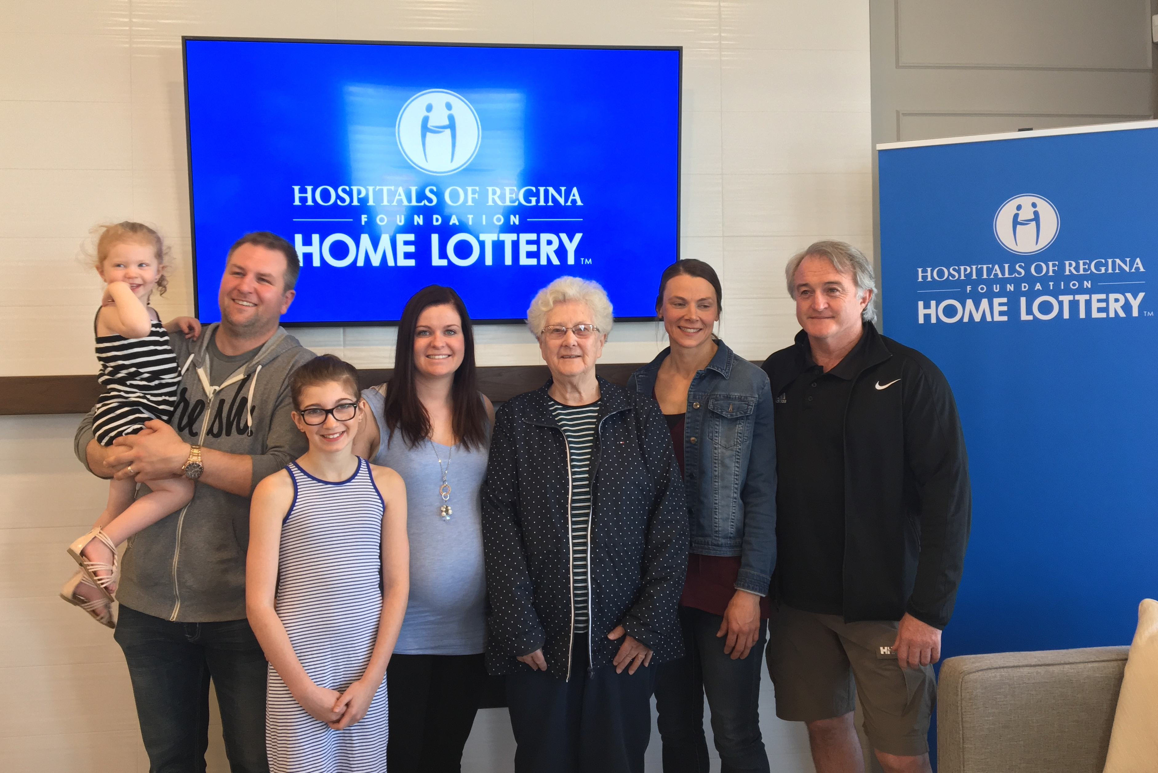 Meet the top winners - spring Home Lottery