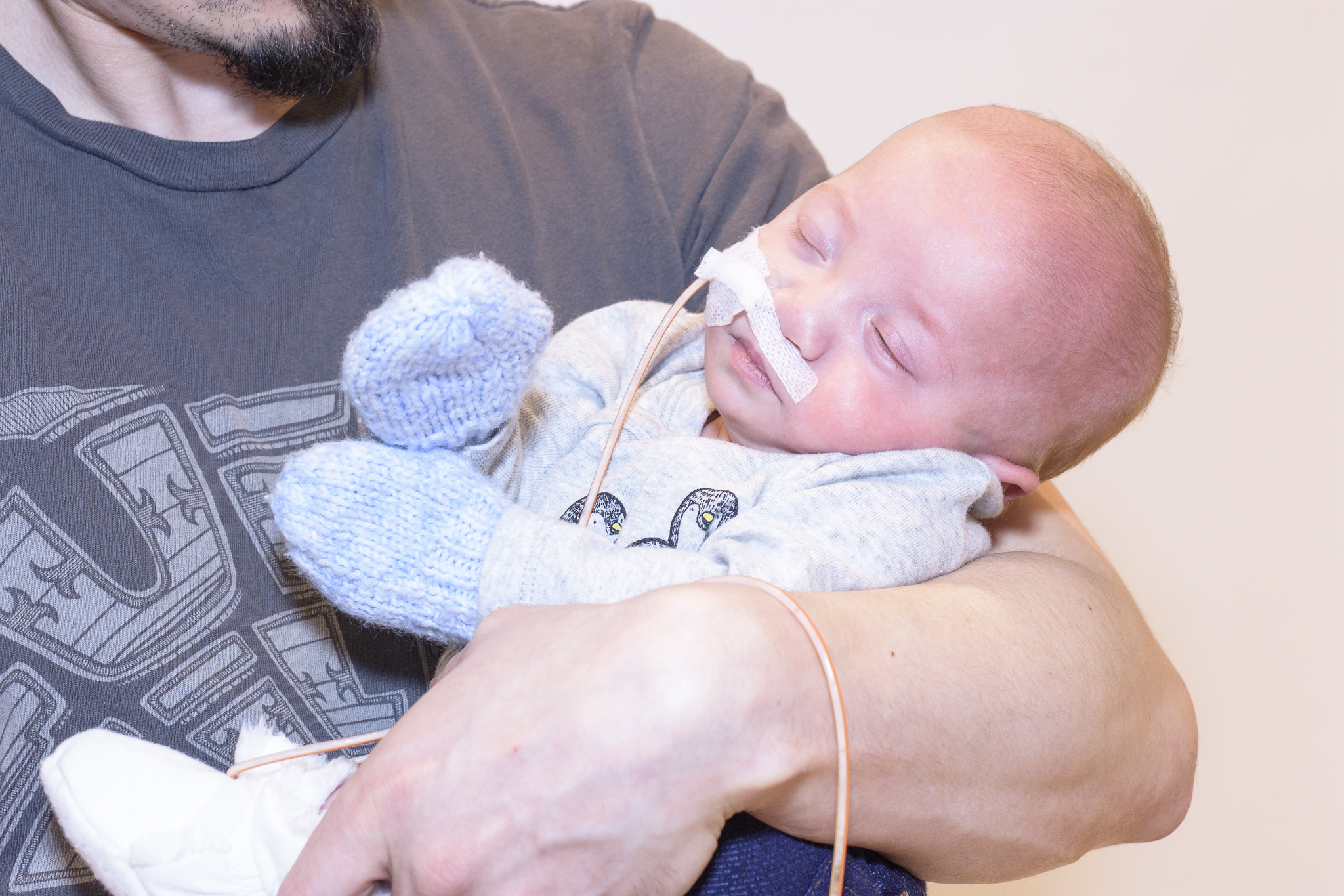 Luke was lucky to have Regina's NICU in his corner