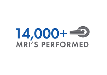 14,000+ MRI's performed