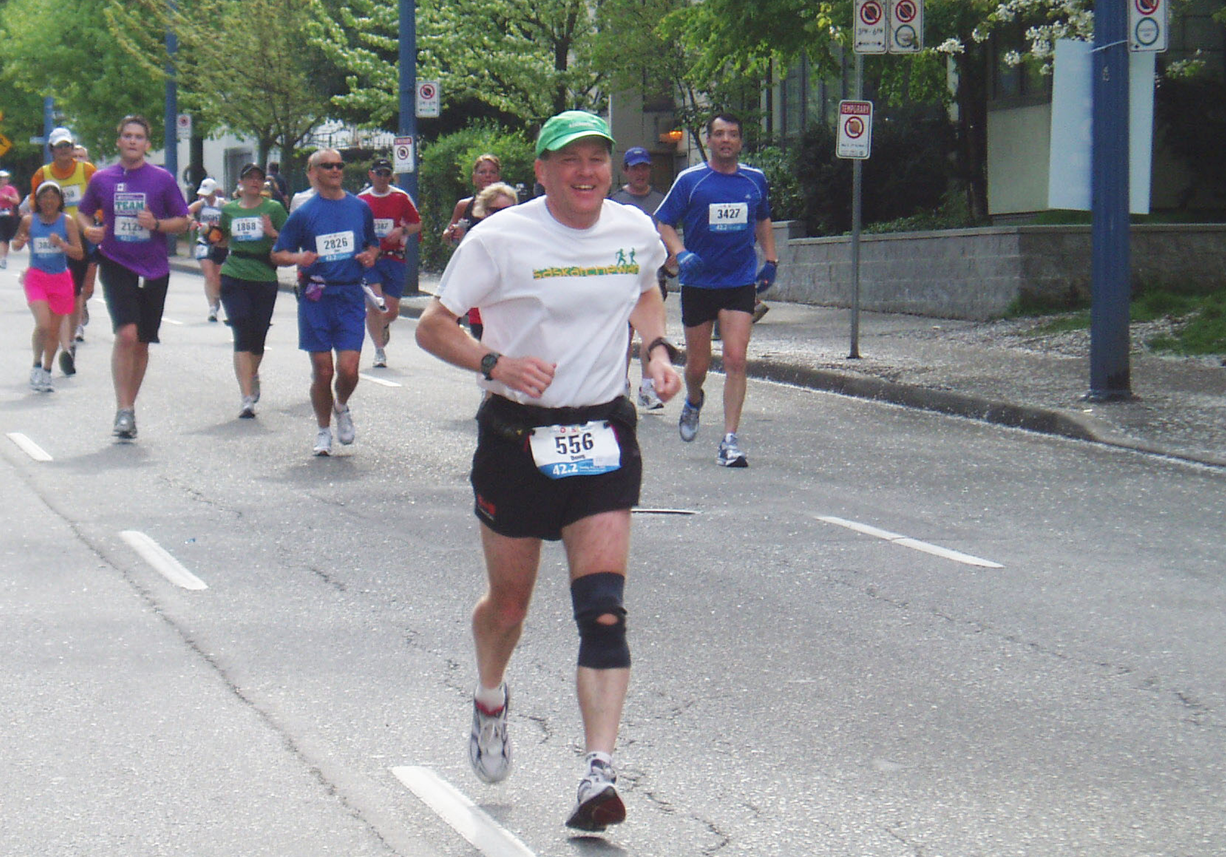 Marathon runner gets new lease on life